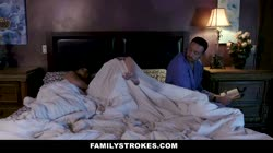 FamilyStrokes - Hot Milf Caught Step Daughter Fucking Stepdad