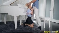 SneakySex - Kenzie Kai - Sneaky Piano Slut