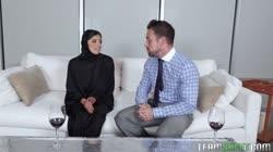 My Arabian Boss's Busty Daughter Ella Knox Wants Real Sex