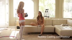 Nubiles Casting - Can This Teen Firecracker Make It In Porn?