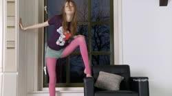 Dirty Strip Dance With Fair-skinned Doll