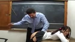 Schoolgirl Likes It When The Teacher Licks Her