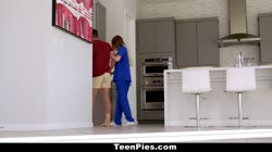 TeenPies - Hot Teen Niki Snow FIlled With Cum
