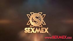SexMex Angie Miller - Double Penetration