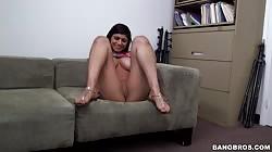 BangBros - Mia Khalifa - Her First Porno She Made