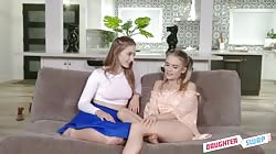 DaughterSwap - Laney Grey, Natalie Knight - Daughter Pussy Swapping Party