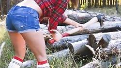 Metart  Zelda B Sexy Lumberjack