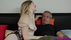 StepSiblingsCaught  Nikki Sweet Teaching Daddy A Lesson