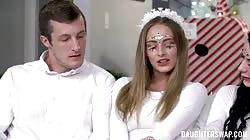 DaughterSwap Alice Pink And Kyler Quinn Christmas Swap