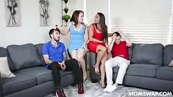 Momswap Carmela Clutch And Carmen Valentina - A Lesson In Sharing