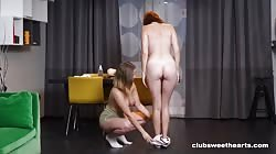 ClubSweethearts Amalia Davis And Queenlin - Working Out Has Its Rewards