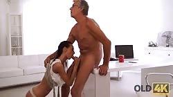 Old4k E06 Evelyn Neill - Finally She's Got Her Boss Dick