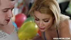 Analmom Cherry Kiss - Stepmoms Birtsday Surprise