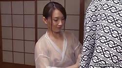 JapanHDV Hitomi Hayama - Our Kimono Lady Today Is Hitomi Hayama Who Takes You To A Spa To Bathe You