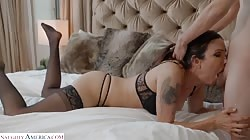 Seduced By A Cougar - Shay Sights Wants Ricky To Do Some Chores And Ride His Cock!!