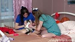 AbbyWinters Elza And Lilia - Passionate Cunnilingus
