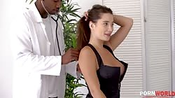 HandsOnHardcore - Horny Patient Liya Sliver Takes Doctor's BBC For Prescription