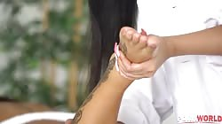 DDFBusty Julia De Lucia And Susy Gala - BBC Turns Erotic Massage With Bisexual Lovers Susy Gala Turns Into Interracial Threesome
