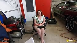 Bang RoadSideXXX Bess Breast - Bess Breast Fucks To Get Her Car Towed For Free