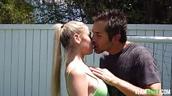TheRealWorkout Delilah Day - Dribbling His Balls
